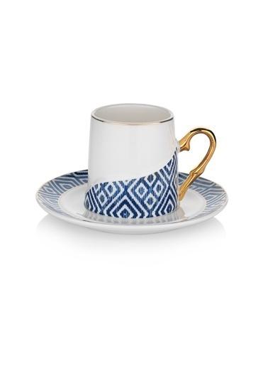 Schafer Ottoman Kahve Fincan Takımı - Lac01 Renkli